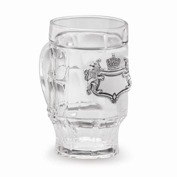 Strassburg Tankard with Pewter Eagle Badge - Engravable Personalized Gift Item