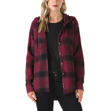 Winston Flannel Hoodie | Shop Womens Tops At Vans