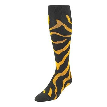 TCK Krazisox Elite Zebra, Cat, Tiger Stripe Socks - proDRI - Knee-High