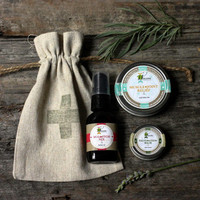 Outdoors Survival Kit / GIft for Him / Hunger Games / Under 25 / theteam, cabin, camping, rustic, swiss cross, skincare