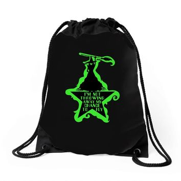 Wicked Musical Drawstring Bags