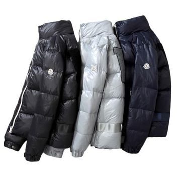 Moncler winter plus velvet down jacket  046020A2