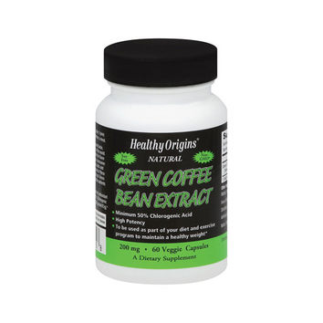Healthy Origins Green Coffee Bean Extract - 60 Vcaps