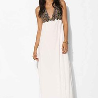 For Love & Lemons San Pedro Maxi Dress- Ivory