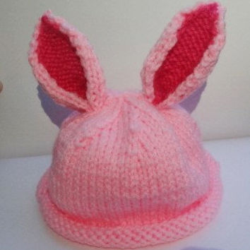 Bunny Hat  Made to Order by ConchoPurl on Etsy