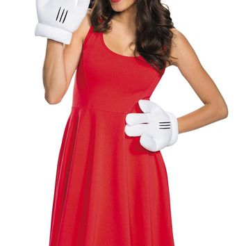Minnie Mouse Ears Gloves Adult Mask for Halloween