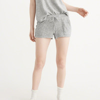 Womens Cozy Shorts | Womens Lounge & Sleepwear | Abercrombie.com