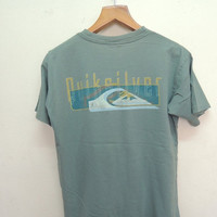 25% SALES ALERT Vintage 90's Quiksilver Surf T Shirt Sport Street Wear Swag Top Tee Hawaii Surfing Size Xl