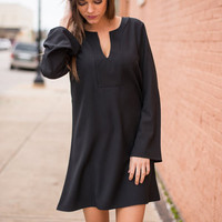 Just Stick With Me Dress, Black