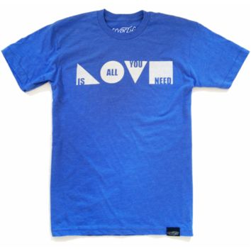 Love Is All You Need (Heather Blue)