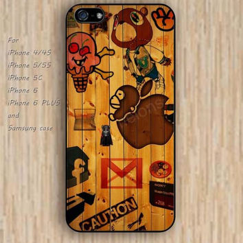 iPhone 5s 6 case colorful Wood grain design cartoon one direction phone case iphone case,ipod case,samsung galaxy case available plastic rubber case waterproof B378