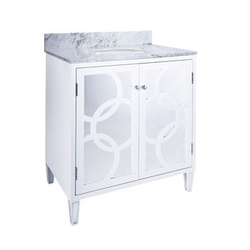 LILETH WHITE Bath Vanity