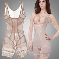 Women Summer Style Body Shapers Shaping Slim Underwear Waist Corsets Butt Lifter Sculpting Clothing Shapewear Bodysuit