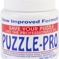 Puzzle Pro Jigsaw Puzzle Glue-4 Ounces