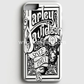 Harley Davidson Motorcycles Ride Hard Since Iphone 6 Plus/6S Plus Case | Aneend