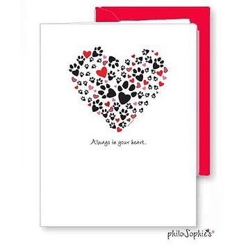Always in Your Heart - Pet Sympathy Card