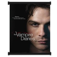 "Vampire Diaries TV Show Fabric Wall Scroll Poster (16""x21"") Inches"