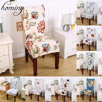 Homing 1pc colorful indian mandala geometric flower pattern durable spandex stretch dining party hotel chair seat cover decor