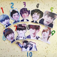 MY MARKET Kpop EXO EXOM EXOK Sticker Chanyeol