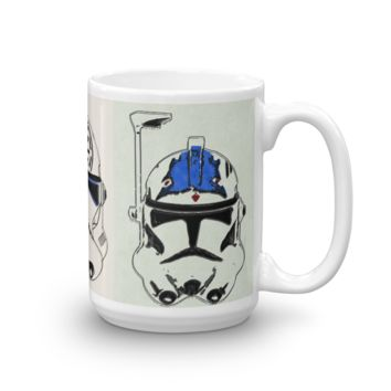 Good Soldiers Follow Orders Premium Large Coffee Mug (Rex / Jesse / Fives - Made in the USA)