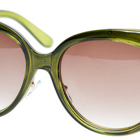 GRACE GREEN SUNGLASSES