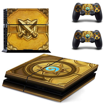 Diablo 3 Book of cain PS4 console skin sticker, made of pvc