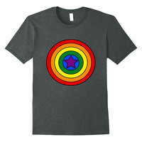 LGBT Captain Shield National Pride March Equality Gay Shirt