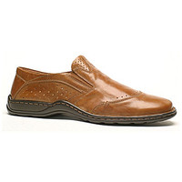 Josef Seibel Men's Lionel 07 Loafers - Bark Cipro