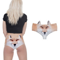 Feelin Like a FOX 3D Image Panties