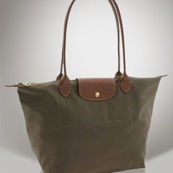 Longchamp Le Pliage Large Tote Bag Slate
