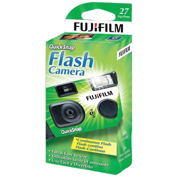 Fujifilm Quicksnap Flash 400 Disposable Single-use Camera