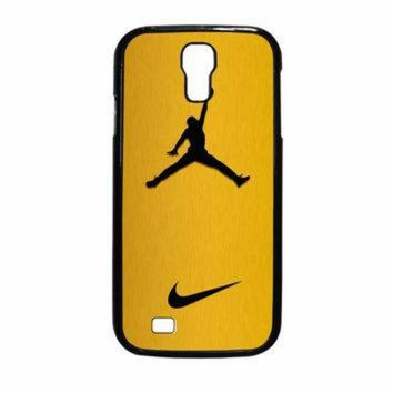 CREYUG7 Nike Air Jordan Golden Gold Samsung Galaxy S4 Case