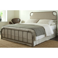 Fillmore Carbon Steel Folding Bed Frame with Headboard & Footboard