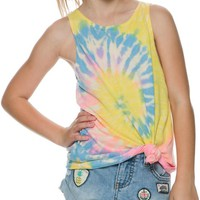 BILLABONG GIRL LIKE HER TIE DYE TANK