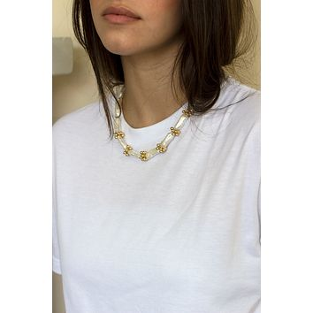 Biwa Eyelet Necklace - Christine Elizabeth Jewelry