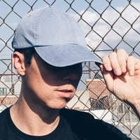 Washed Out Blue Dad Hat