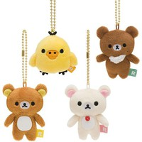 Rilakkuma Mini Phone Cleaner Keychains