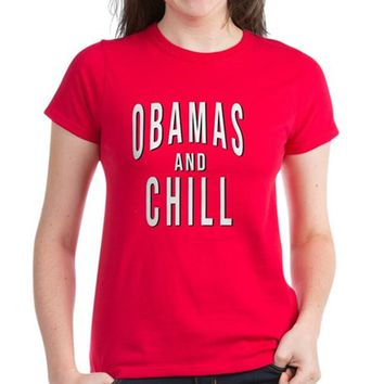 OBAMAS and CHILL Parody Women's Classic T-Shirt