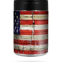 Patriotic Skin Wrap for Yeti Rambler Colster and RTIC Can (COOLER NOT INCLUDED) by WraptorSkinz
