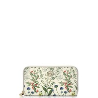 ROBINSON PRINTED ZIP CONTINENTAL WALLET