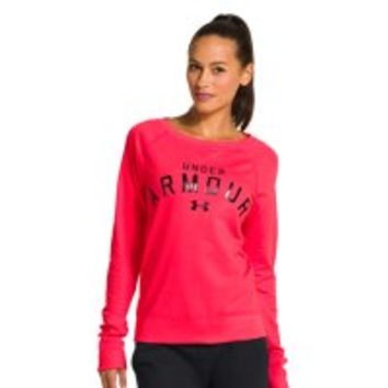 Under Armour Womens UA Pretty Gritty Blackout Crew