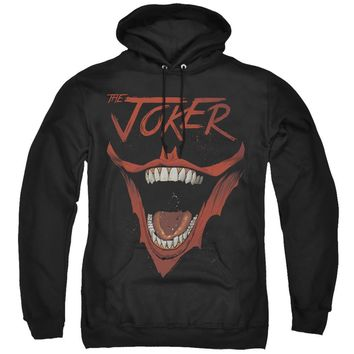 Batman Hoodie Joker Laugh Black Hoody