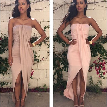 Sexy Women Fashion Beach Bodycon Clubwear Slim fit Causal Evening Party Dress [9221274116]