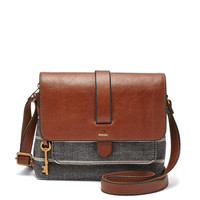 Kinley Small Crossbody, Chambray