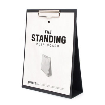 The standing large clipboard