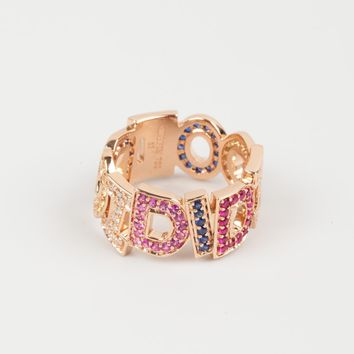 "NADINE GHOSN ""I Do I Did"" Ring"