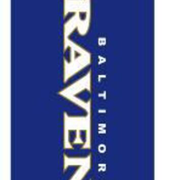 Baltimore Ravens outdoor feather flag for 280cm and  340cm flagpole 110g knitted polyester the price without flagpole