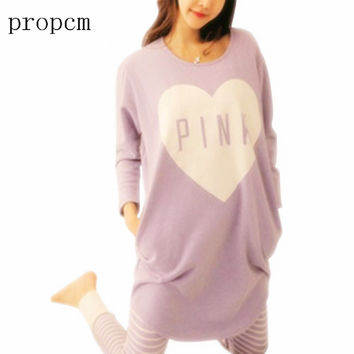 2017 Women Pajama Sets Summer Spring Sleepwear Womens Long Sleeve Cute Pajamas Girls Kawaii Night Homewear Nightgown Plus Size