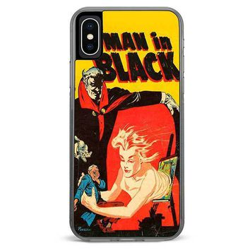 Man in Black iPhone XR case