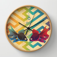 You & Me Both Wall Clock by Angelo Cerantola